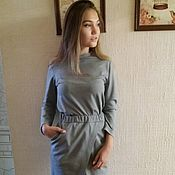Одежда handmade. Livemaster - original item Knitted suit, suit womens, sweater, and skirt. Handmade.