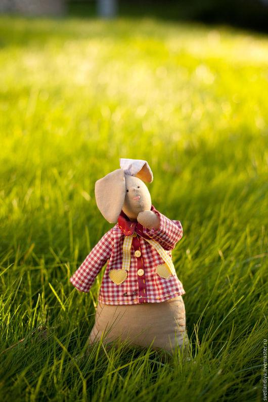 Куклы Тильды ручной работы. Ярмарка Мастеров - ручная работа. Купить Заяц Тильда. Handmade. Заяц, игрушка для детей