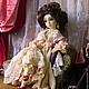 Коллекционные куклы ручной работы. Елизавета. Елена Орлова. Ярмарка Мастеров. Кукла в подарок, винтажный стиль, подарок девушке, Ладолл