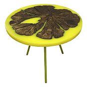 Для дома и интерьера handmade. Livemaster - original item Table of Apple trees in yellow. Handmade.