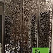 Для дома и интерьера ручной работы. Ярмарка Мастеров - ручная работа Перегородка из металла для зонирования. Handmade.