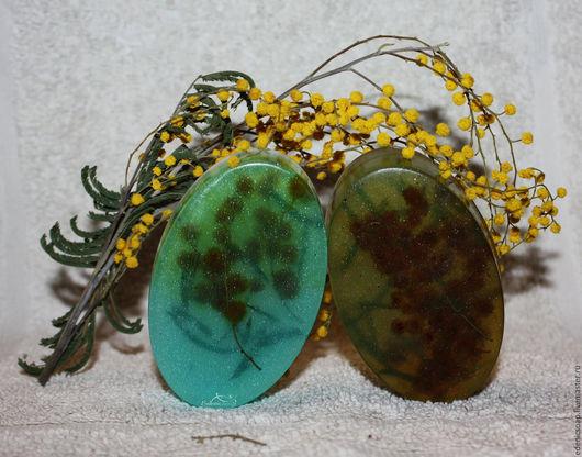 Подарки женщинам. 8 марта. Мыло ручной работы с натуральной мимозой. Edenicsoap.