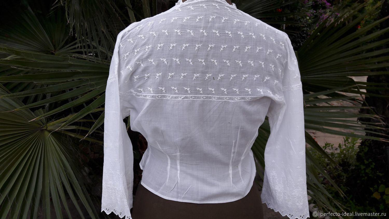 347a5b4f9a45 Купить Винтаж  Блузка старинная Винтажная одежда и аксессуары. Винтаж   Блузка старинная начало 20 века Франция. perfecto-