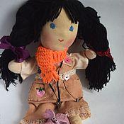 Куклы и игрушки ручной работы. Ярмарка Мастеров - ручная работа Мусик. Чердачная кукла. Вальдорфская). Handmade.