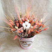 """Цветы и флористика ручной работы. Ярмарка Мастеров - ручная работа Композиция """"В стиле Shebby"""". Handmade."""
