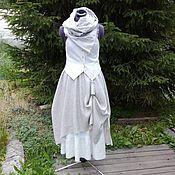 Одежда ручной работы. Ярмарка Мастеров - ручная работа № 167 Льняная юбка-бохо. Handmade.