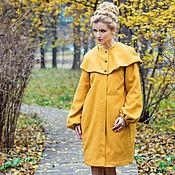 """Одежда ручной работы. Ярмарка Мастеров - ручная работа Пальто """"Горчица"""". Handmade."""
