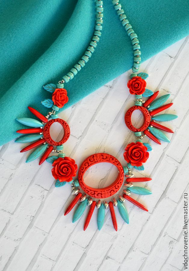 Necklace 'Thorns and roses', Necklace, Kolomna,  Фото №1