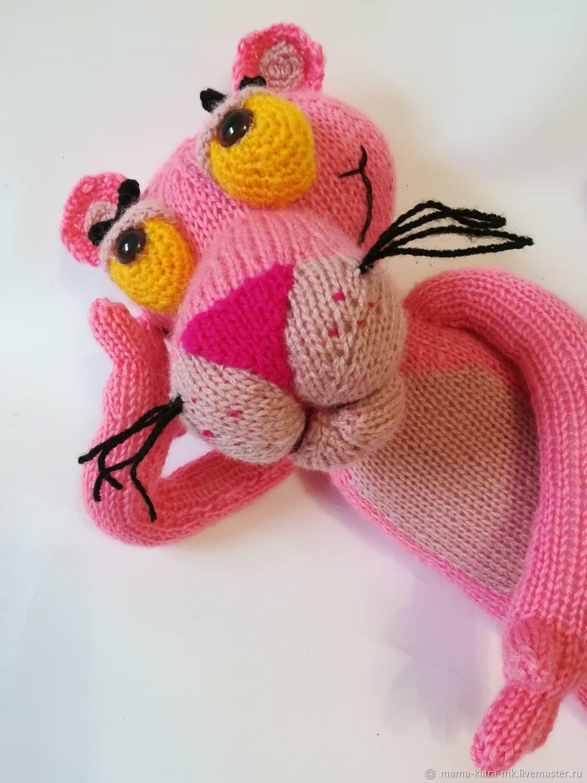 Розовая пантера, Схемы для вязания, Ромны,  Фото №1