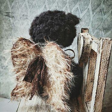Куклы и игрушки ручной работы. Ярмарка Мастеров - ручная работа Мишки Тедди: Мишка тедди Ангел Эдвард. Handmade.