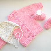 Работы для детей, ручной работы. Ярмарка Мастеров - ручная работа Комплект Нежность розового. Handmade.