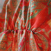 """Одежда ручной работы. Ярмарка Мастеров - ручная работа Комплект """" Красный с Золотом"""". Handmade."""
