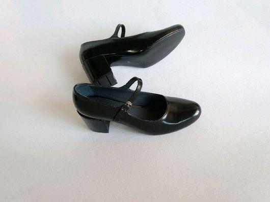 """Обувь ручной работы. Ярмарка Мастеров - ручная работа. Купить Женская обувь лодочка """"Школьница ЛД"""". Handmade. Женская обувь"""