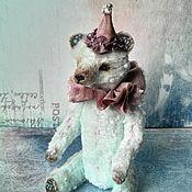 Куклы и игрушки ручной работы. Ярмарка Мастеров - ручная работа Мишка тедди Арчи,12 см. Handmade.