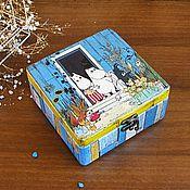 Для дома и интерьера handmade. Livemaster - original item Moomin house, box. Handmade.
