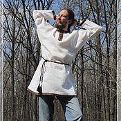 Русский стиль ручной работы. Ярмарка Мастеров - ручная работа Рубаха в русском стиле. Handmade.