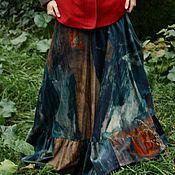 """Одежда ручной работы. Ярмарка Мастеров - ручная работа резерв Осенняя юбка """"Палитра"""". Handmade."""