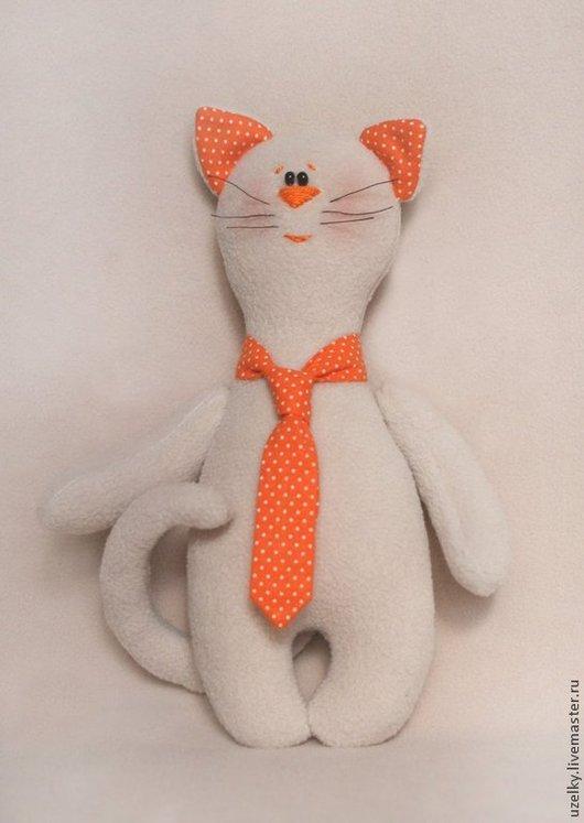 """Куклы и игрушки ручной работы. Ярмарка Мастеров - ручная работа. Купить Набор для изготовления игрушки """"Котик в галстучке"""". Handmade."""