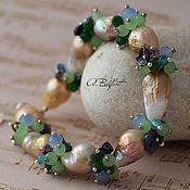 Украшения handmade. Livemaster - original item bracelet of pearls Kasumi like