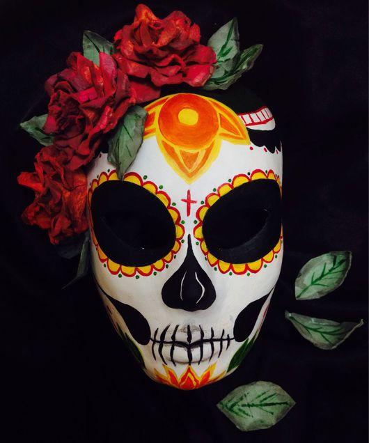 Интерьерные  маски ручной работы. Ярмарка Мастеров - ручная работа. Купить Маска интерьерная. Handmade. Маска, карнавал, сахарный череп