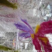 Материалы для творчества handmade. Livemaster - original item Margilan silk for felting. Handmade.