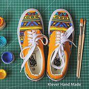 Обувь ручной работы. Ярмарка Мастеров - ручная работа Кеды Этника. Handmade.