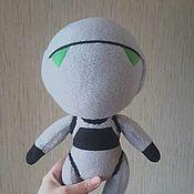 Куклы и игрушки ручной работы. Ярмарка Мастеров - ручная работа Робот Марвин (Автостопом по Галактике). Handmade.