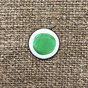 Материалы для творчества handmade. Livemaster - original item Overglaze paint Dulevo No. №5105 green. Handmade.