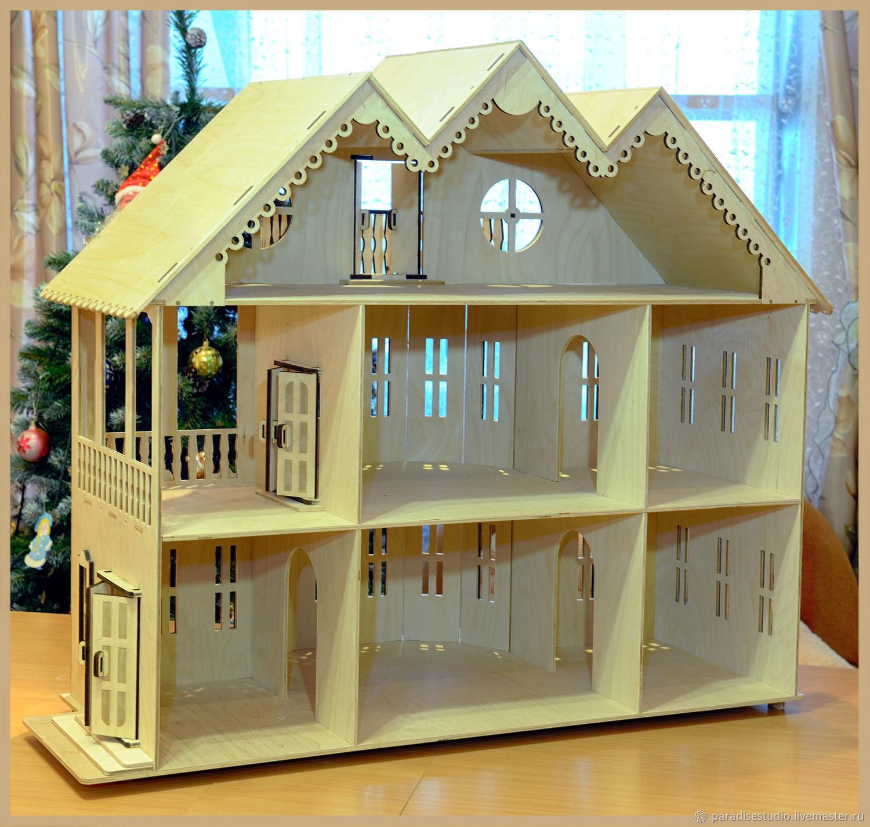 кукольный дом чертежи фото около изумительный