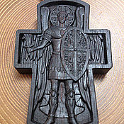 Украшения handmade. Livemaster - original item Double-sided rosewood cross. Handmade.