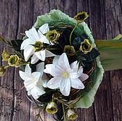 Косметика ручной работы. Ярмарка Мастеров - ручная работа Букет из мыла 3 лилии. Handmade.