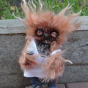 Куклы и игрушки ручной работы. Ярмарка Мастеров - ручная работа Сова С добрым утром. Handmade.