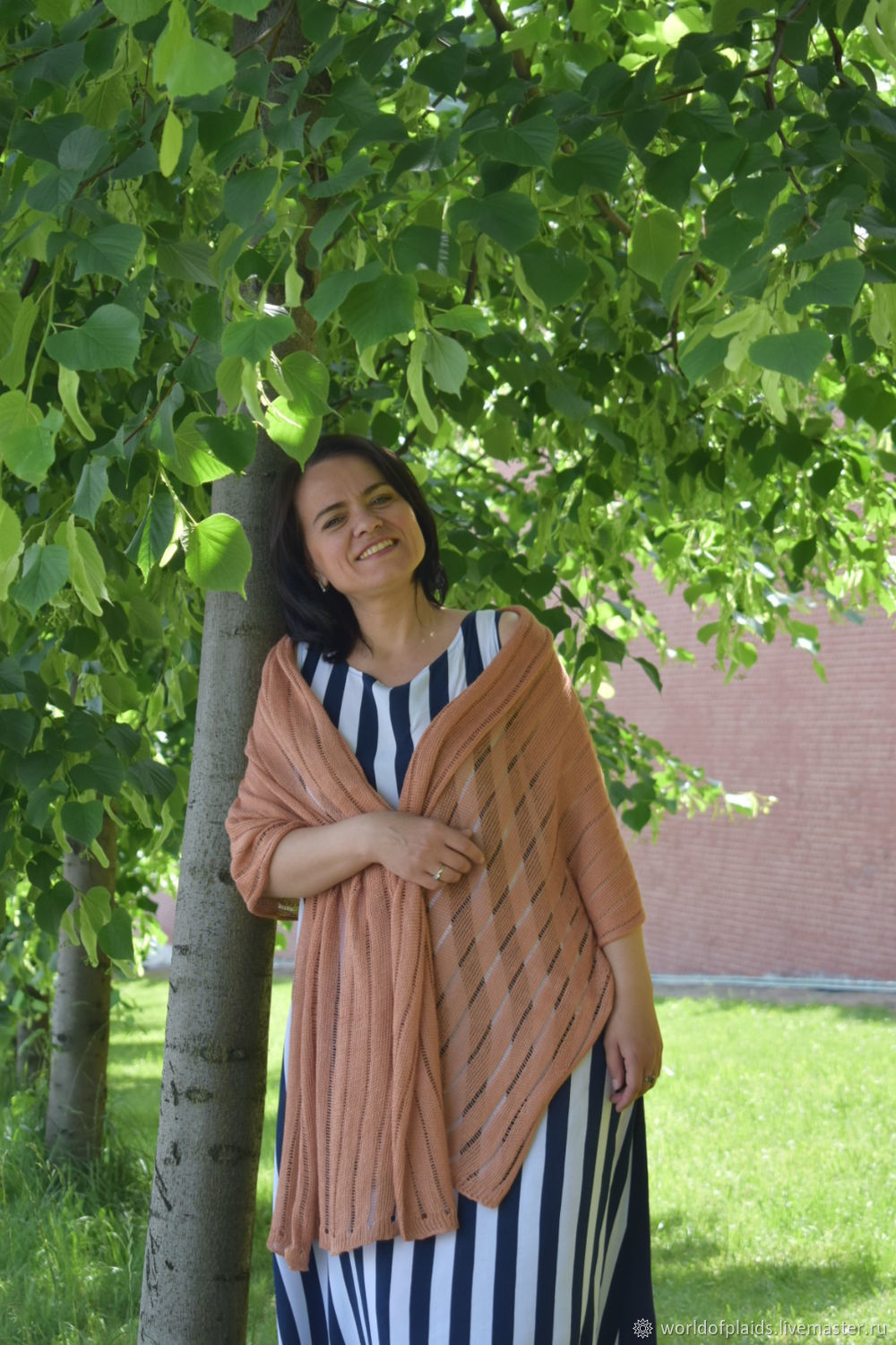 Nettle stole for summer that cools, Wraps, Moscow,  Фото №1