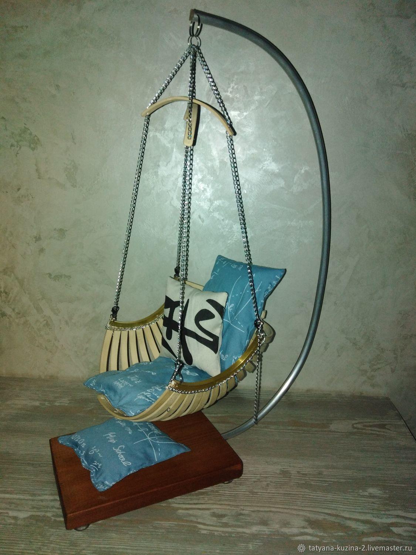 Кресло-гамак для кукол, Мебель для кукол, Самара,  Фото №1