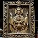 Иконы ручной работы. Резная Икона из дерева - Неупиваемая Чаша. mart (opolye). Ярмарка Мастеров. Икона из дерева, чудотворная икона