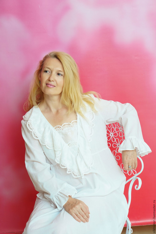 Nightgown of Batiste Princess gift girl, Nightdress, Kursk,  Фото №1