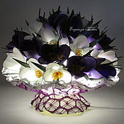 Для дома и интерьера handmade. Livemaster - original item Night light-bouquet