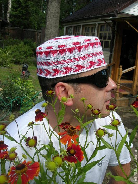 """Для мужчин, ручной работы. Ярмарка Мастеров - ручная работа. Купить Шапка  """"Султан-11"""". Handmade. Разноцветный, для женщины, в путешествие"""