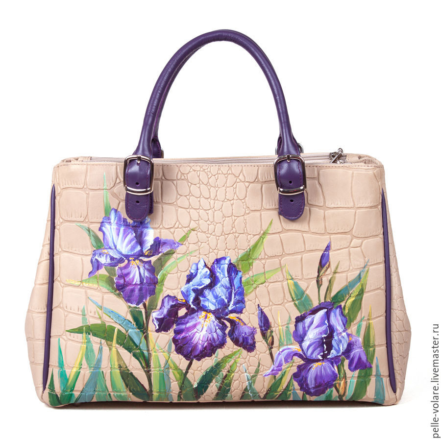 The average bag of 'Irises', Classic Bag, St. Petersburg,  Фото №1