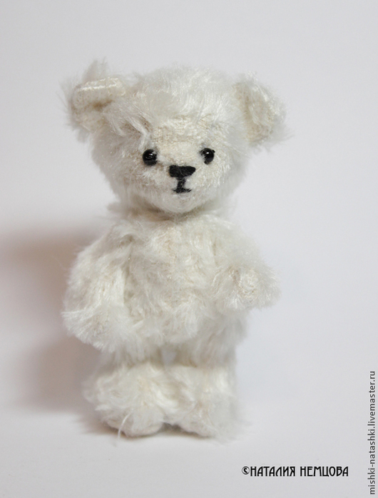 Мишки Тедди ручной работы. Ярмарка Мастеров - ручная работа. Купить мишка-малышка. Handmade. Белый, игрушки, искусственный мех
