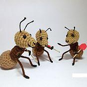 Куклы и игрушки ручной работы. Ярмарка Мастеров - ручная работа Муравей. Handmade.