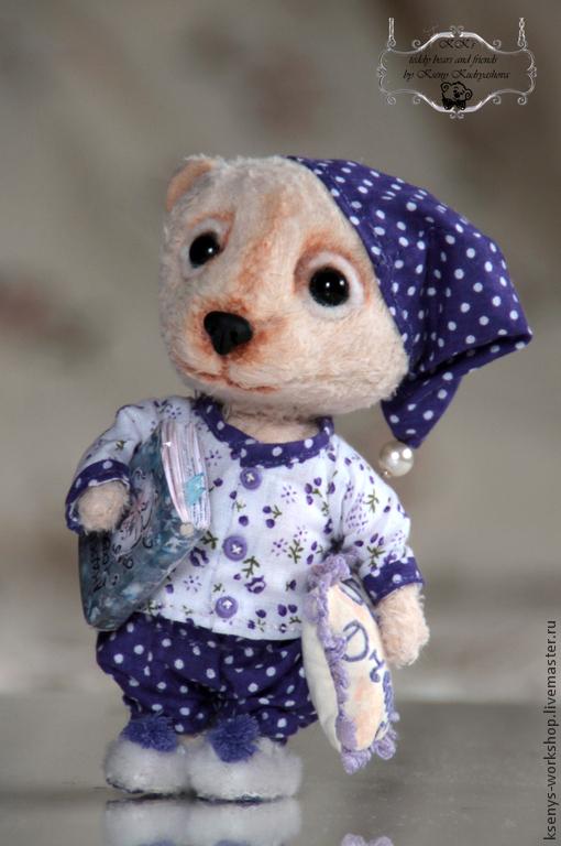 Мишки Тедди ручной работы. Ярмарка Мастеров - ручная работа. Купить Мишка Ваня. Handmade. Сиреневый, книга, мишка из вискозы