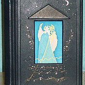 Свадебный салон ручной работы. Ярмарка Мастеров - ручная работа Свадебный фотоальбом ручной работы из натуральной кожи. Handmade.