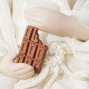 Куклы и игрушки ручной работы. Ярмарка Мастеров - ручная работа Средняя шоколадка 9 х15 мм. 1:12. Handmade.