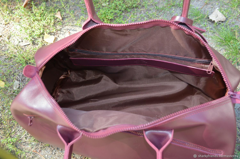 71f731ae50bd Sharky Женские сумки ручной работы. Брендовый кожаный саквояж 'Италия' из натуральной  кожи. Sharky