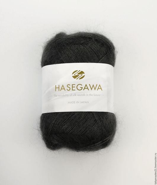 Вязание ручной работы. Ярмарка Мастеров - ручная работа. Купить Пряжа Hasegawa Seika №  19 STEEL GRAY. Handmade.