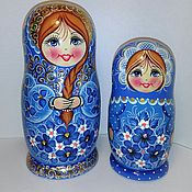 Русский стиль handmade. Livemaster - original item Matreshka 5 places Dear. Handmade.
