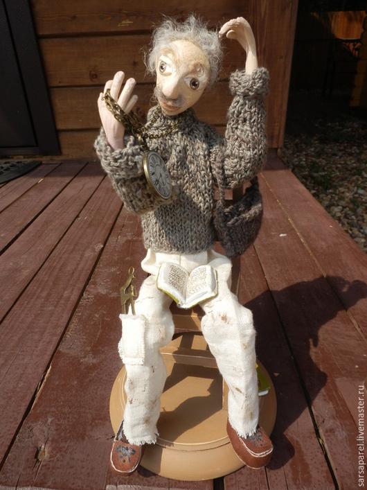 Коллекционные куклы ручной работы. Ярмарка Мастеров - ручная работа. Купить Мистер Финч  (куклы с историей). Handmade. Коллекционная кукла