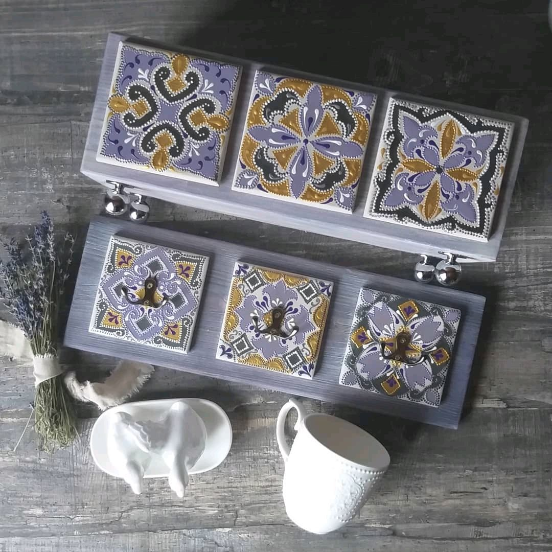 A small box and a hanger. ' Lavender', Interior elements, Konakovo,  Фото №1