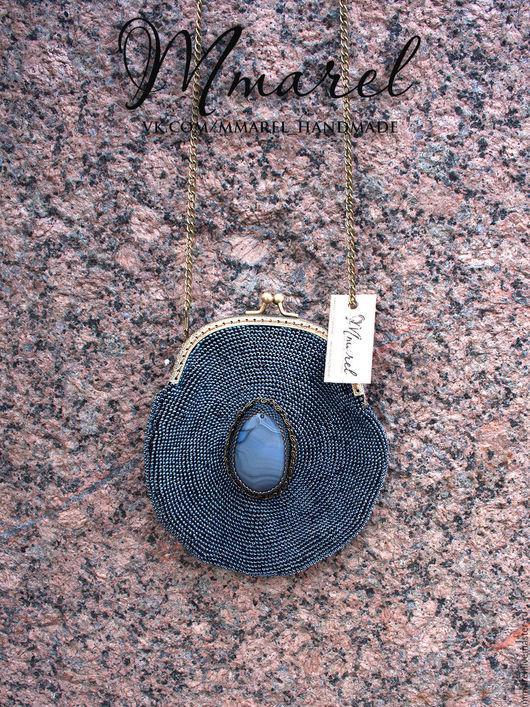 Сумка из бисера ручной работы от Mmarel Санкт-Петербург. Вязание бисером. Сумки на заказ